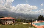 villa vacanza Toscana Garfagnana piscina